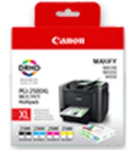 Multipack 4 cartuchos tinta Canon pgi-2500xl - alta capacidad - cian - mage 9254B004 - CAN-MULTIPACK 2500XL