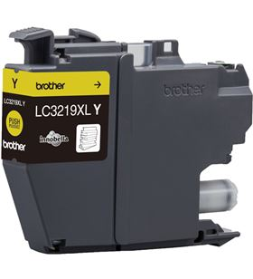 Cartucho de tinta amarillo Brother LC3219XLY - hasta 1500pag - compatible s - BRO-C-LC3219XLY