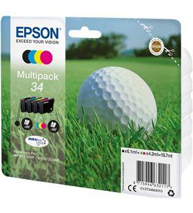 Cartucho tinta Epson t346640 multipack 34 - 18.7ml - 4 colores (negro / ama C13T34664010 - EPS-C13T34664010