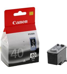 Cartucho de tinta negra Canon pixma ip1600/2200, mp150/170/450 0615B001 - BCC-PG40