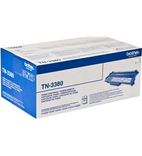 Toner negro Brother tn-3380 - 8000 paginas aprox - compatible segun especif TN3380 - BRO-TN3380