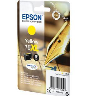 Cartucho tinta Epson ultra 16xl amarillo - 6.5ml - para impresora wf-2010w/ C13T16344012 - EPS-C13T16344012