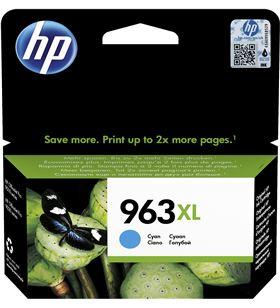 Cartucho cian Hp nº963xl - 1600 páginas - compatible según especificaciones 3JA27AE - 3JA27AE