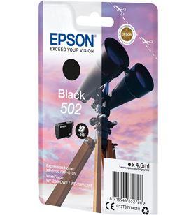 Cartucho tinta Epson 502 - negro (4.6ml) - binoculares C13T02V14010 - EPS-C13T02V14010