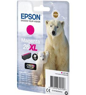 Cartucho Epson 26xl 9.7ml magenta - oso polar C13T26334012 - EPS-C13T26334012