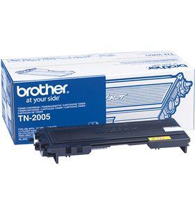 Toner Brother tn-2005 1500 páginas negro TN2005 Otros productos consumibles - BRO-TN2005