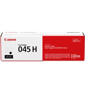 Toner negro alto rendimiento Canon 045h - 2800 páginas - compatible según e 1246C002 - CAN-045H