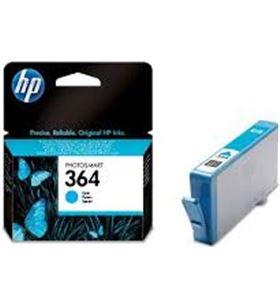 Cartucho cian Hp nº364 vivera para impresora photosmart b109a/d5460/c6380/ CB318EE - CB318EE