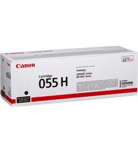 Toner negro Canon 055h bk- 7600 páginas - compatible según especificaciones 3020C002 - CAN-TN 3020C002