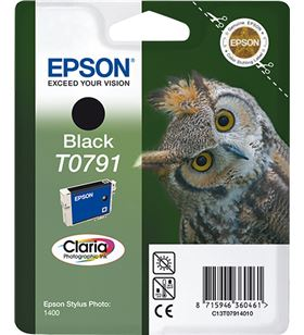 Cartucho Epson t0791 11.1ml negro - búho C13T07914010 - EPS-C13T07914010