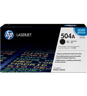 Toner negro Hp CE250A 5000 páginas para Hp laserjet cm3530 / cp3520 / cp352 - CE250A