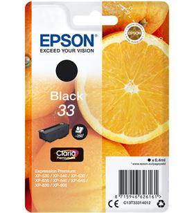 Tinta Epson 33 claria premium negro EPSC13T33314012 - EPSC13T33314012