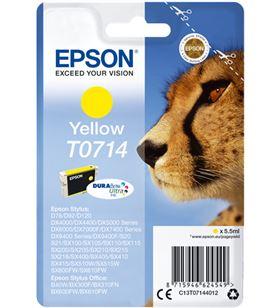 Tinta Epson amarilla 714 EPSC13T07144012 Otros productos consumibles - EPSC13T07144012