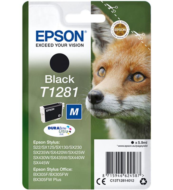 Epson C13T12814012 tinta negra 1281 Otros productos consumibles - EPSC13T12814012