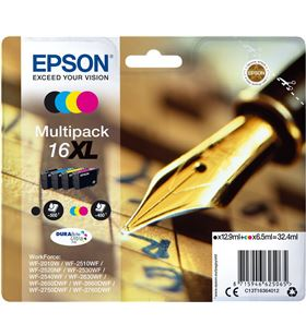 Multipack tinta 4 colores Epson durabrite 16xl EPSC13T16364012 - EPSC13T16364012