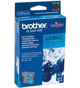 Brother cartucho lc-980c lc980c Otros productos consumibles - 06138378