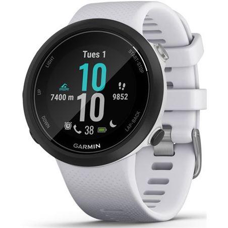 Garmin swim 2 negro con correa blanca piedra 42mm smartwatch diseñado para SWIM 2 WHITESTO - SWIM 2 WHITESTONE
