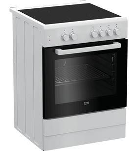 Cocina vitro Beko FSS67000GW 4f 60cm blanca Cocinas y vitros - FSS67000GW