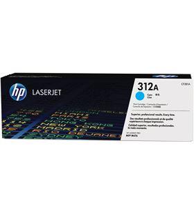 Toner cian Hp nº312a para color laserjet pro 476nw / m476dn / m476dw - 2700 CF381A - CF381A