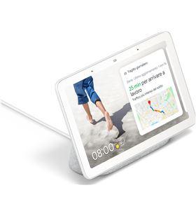 Marco digital con altavoz inteligente Google nest hub color tiza - pantalla GA00516-ES - GOO-NEST TIZA