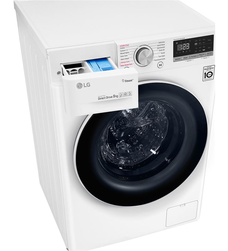 Lavadora Lg F4WV510S0 10,5 kg 1400 rpm clase a+++ -40% wifi - 72637283_3040905537