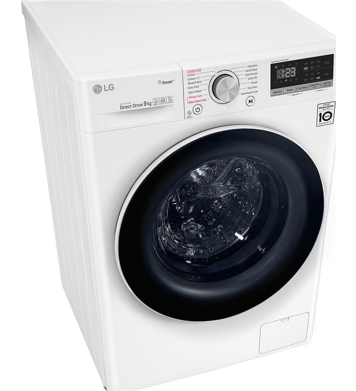 Lavadora Lg F4WV510S0 10,5 kg 1400 rpm clase a+++ -40% wifi - 72637283_1019889735