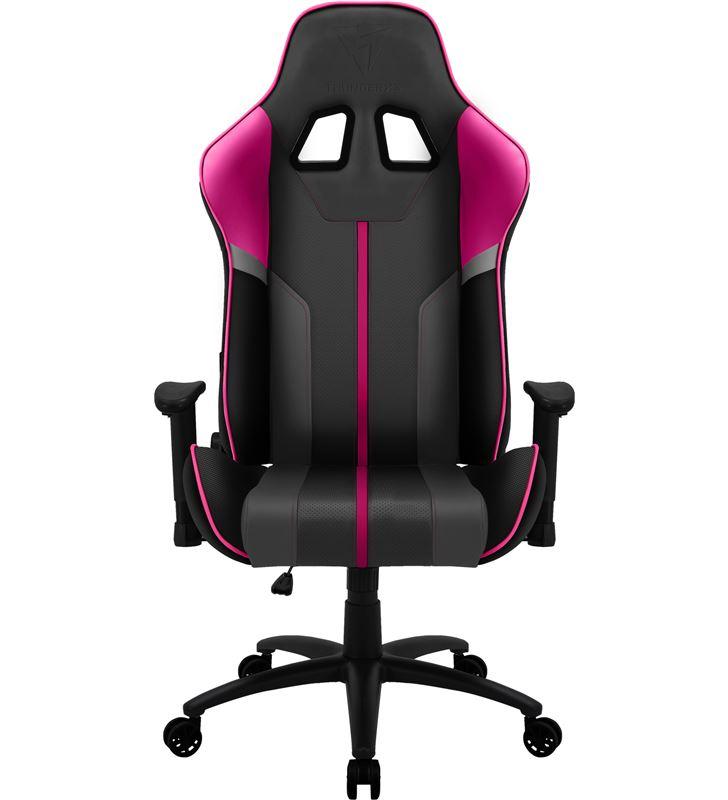 Silla gamer Thunderx3 bc3 boss fuchsia grey pink - marco acero - resposabra BC3BOSSFU - 74940212_9388585916