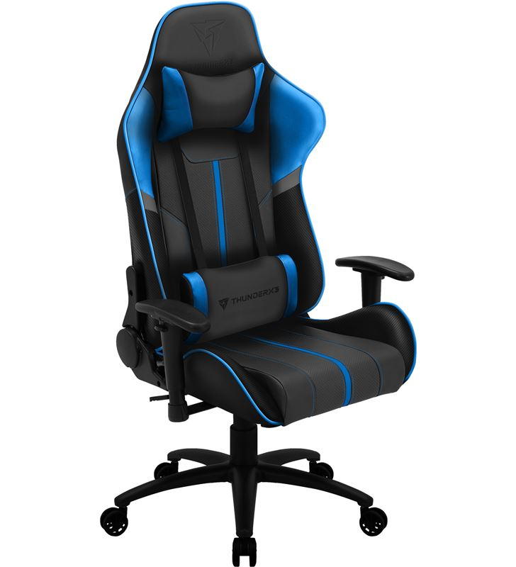 Silla gamer Thunderx3 bc3 boss ocean grey blue - marco acero - resposabrazo BC3BOSSOC - 74940213_5039058728