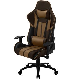Silla gamer Thunderx3 bc3 boss chocolate brown - marco acero - resposabrazo BC3BOSSCH - TAC-SILLA BC3BOSSCH