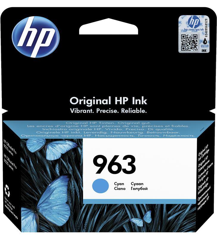 Cartucho de tinta cian Hp nº963 - 700 páginas - compatible según especifica 3JA23AE - 3JA23AE