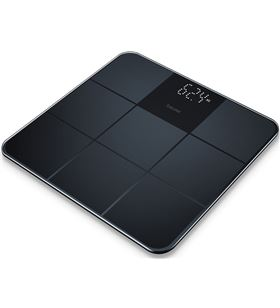 Bascula baño Beurer GS235 digital cristal negra Básculas - GS235