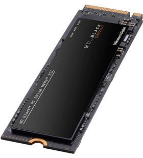 Disco duro sólido Western digital black sn750 nvme 500gb-pcie gen3-m.2 2280 WDS500G3X0C - WD-SSD WDS500G3X0C