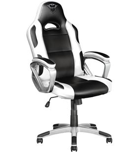 Silla gamer Trust gaming gxt 705w ryon white - cilindro gas clase 4 - asien 23205 - TRU-SILLA 23205