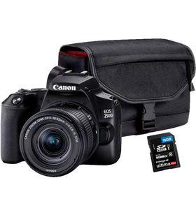 Canon 400329 cámara réflex eos 250d + ef-s 18-55 + sb130 kit eos 250d ne - 8714574661490
