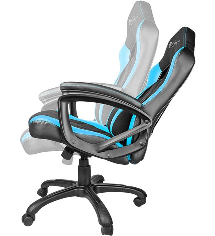 Sihogar.com silla gamer génesis nitro 330 black/blue - reposabrazos no ajustable - rued nfg-0782 - 32662000_9778