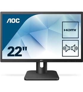 Aoc 22E1D monitor led multimedia - 21.5''/54.6cm - 1920*1080 full hd - AOC-M 22E1D