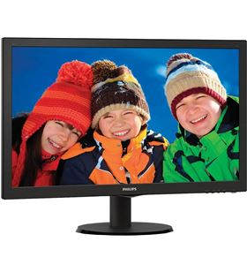 Monitor led Philips v-line 243v5lhsb - 23.6''/ 59.9cm fullhd - 1ms - 1000:1 243V5LHSB/00 - 8712581689377