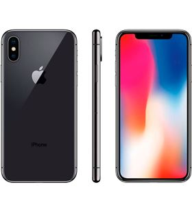 Apple IPHONE X 64GB S iphone x 64gb gris espacial reacondicionado cpo móvil 4g 5.8'' - 6009880903436