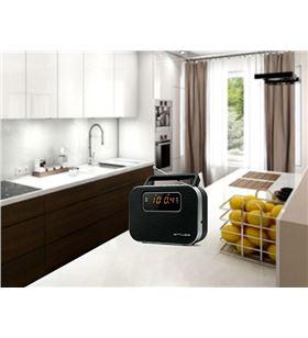 Muse M-081 R negro radio analógica fm/am portátil con altavoz integrado pan - +21826