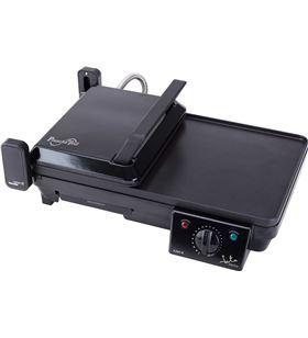 Jata plancha de asar y grill '2 en 1' 2000w GR268 Barbacoas, grills planchas - GR268