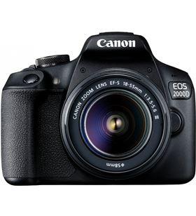 Reflex Canon eos2000d 18-55dc+ bolsa+sd+limpiador+tarjeter 2728C057AA.. - 8714574664125