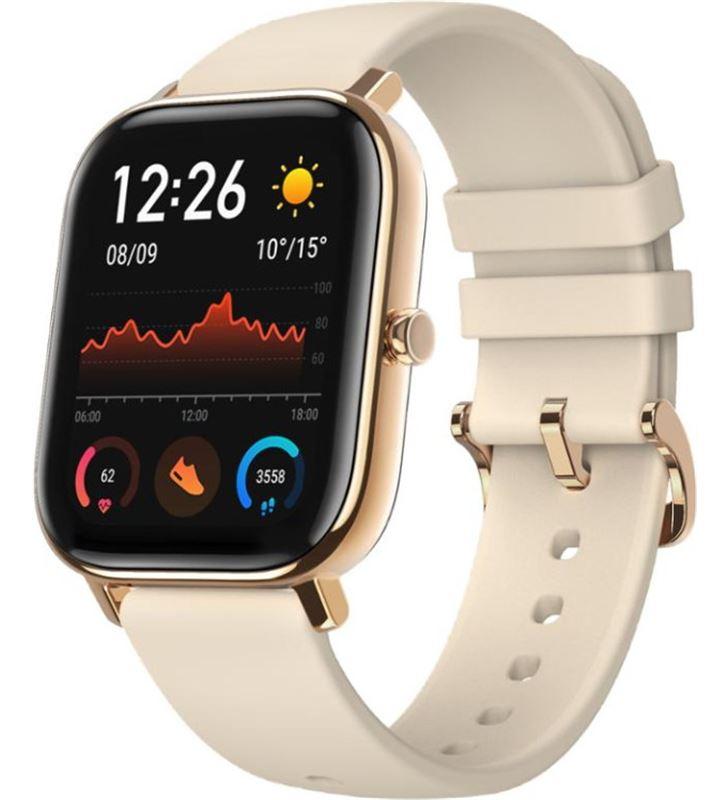 Xiaomi reloj inteligente huami amazfit gts desert gold - pantalla 1.65''/4.19cm - b gts dgold - 75709009_9839262635
