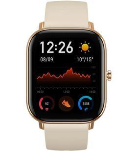 Xiaomi GTS DGOLD reloj inteligente huami amazfit gts desert gold - pantalla 1.65''/4.19cm - b - HMI-RELOJ GTS DGOLD