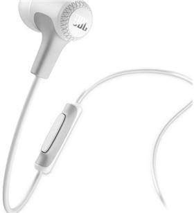 Auriculares intrauditivos Jbl e15 white - drivers 8.6mm - 16ohm - cable 122 JBLE15WHT - JBL-AUR JBLE15WHT