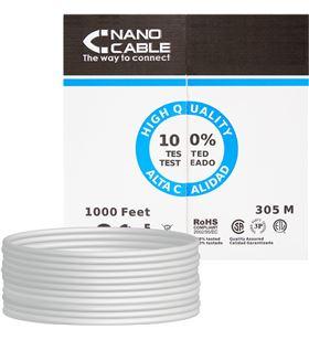 Nanocable -CAB 10 20 0304 bobina de cable 10.20.0304 - rj45 - cat5e - utp - awg24 - 305m - - NAN-CAB 10 20 0304