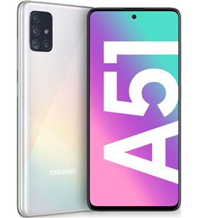 Smartphone móvil Samsung galaxy a51 white - 6.5''/16.5cm - cam (48+12+5+5)/3 A515 DS WH - SAM-SP A515 DS WH