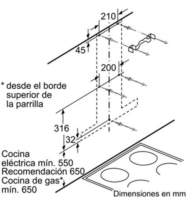 Bosch campana decorativa DWB09W651 Campanas decorativas - 17919478_8754