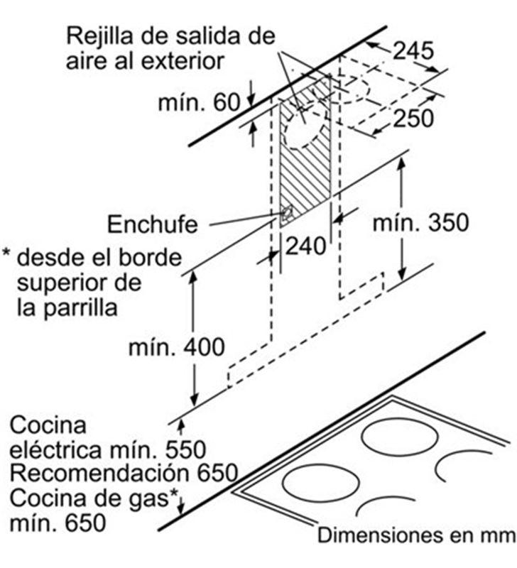 Bosch campana decorativa DWB09W651 Campanas decorativas - 17919478_9926