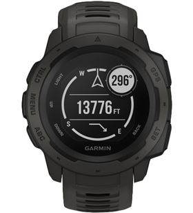 Garmin INSTINCT GRAPHIte 45mm smartwatch resistente gnss gps ant+ bluetooth - +22043
