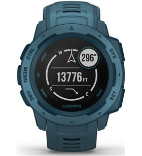 Garmin INSTINCT LAKESIde blue 45mm smartwatch resistente gnss gps ant+ blue - +22046